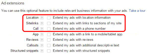Google AdWords Campaign Settings 2