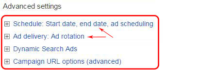 Google AdWords Campaign Settings 3